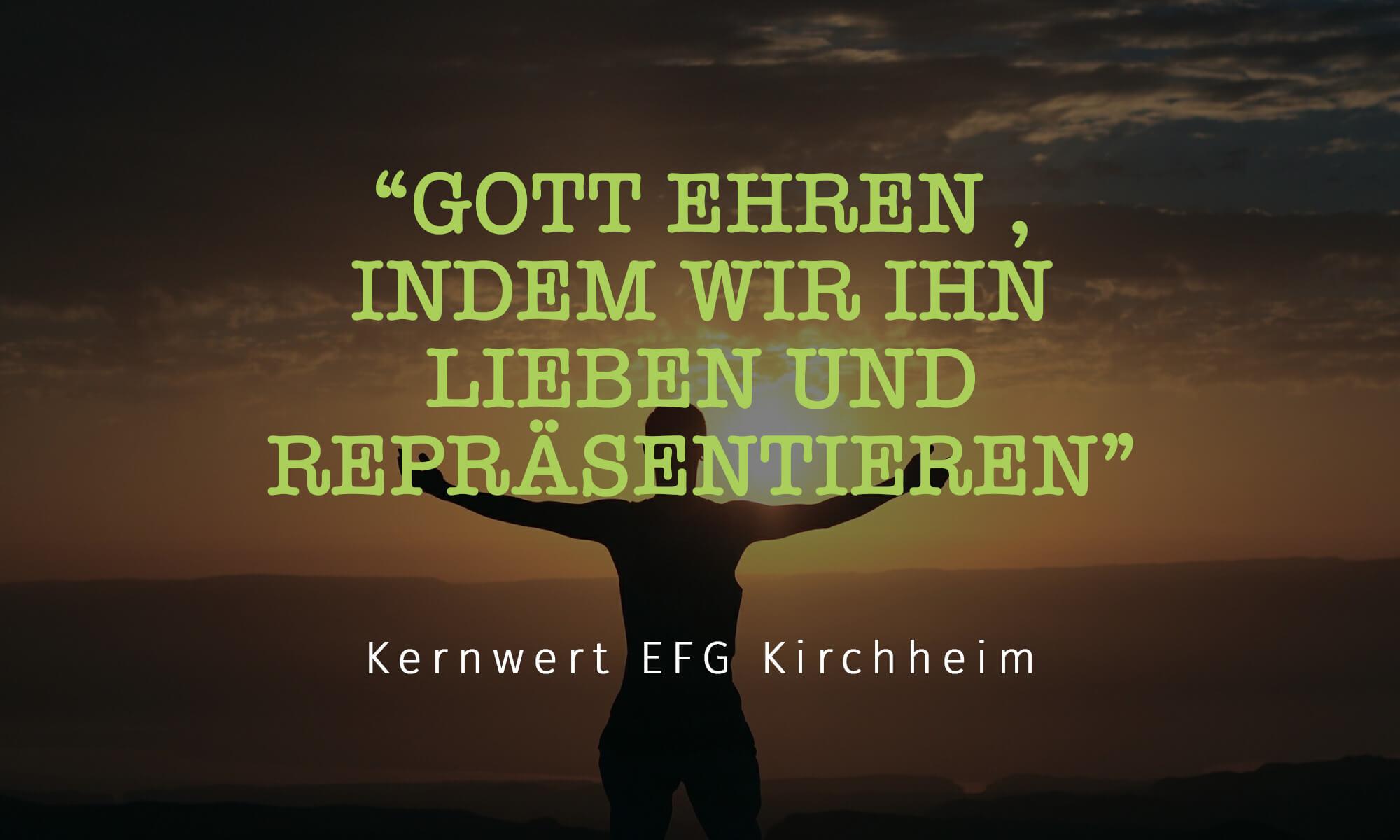 EFG Kernwert