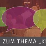 """Podiumsdiskussion zum Thema """"Kirche und Zukunft"""""""